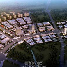 鄂東南國際商貿城鳥瞰圖
