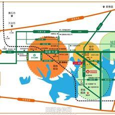 西商農博園區位圖