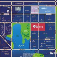 陽新銅鑼灣廣場區位圖