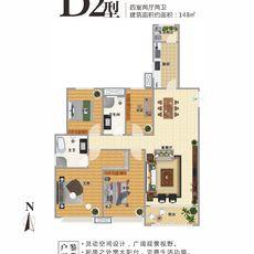 城東一品D2戶型圖