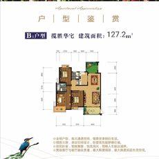 蓮花湖東景城B1戶型戶型圖
