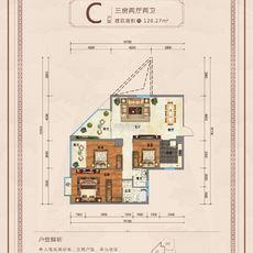 九龍廣場c戶型戶型圖