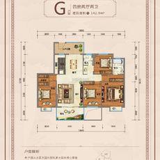 九龍廣場G戶型戶型圖